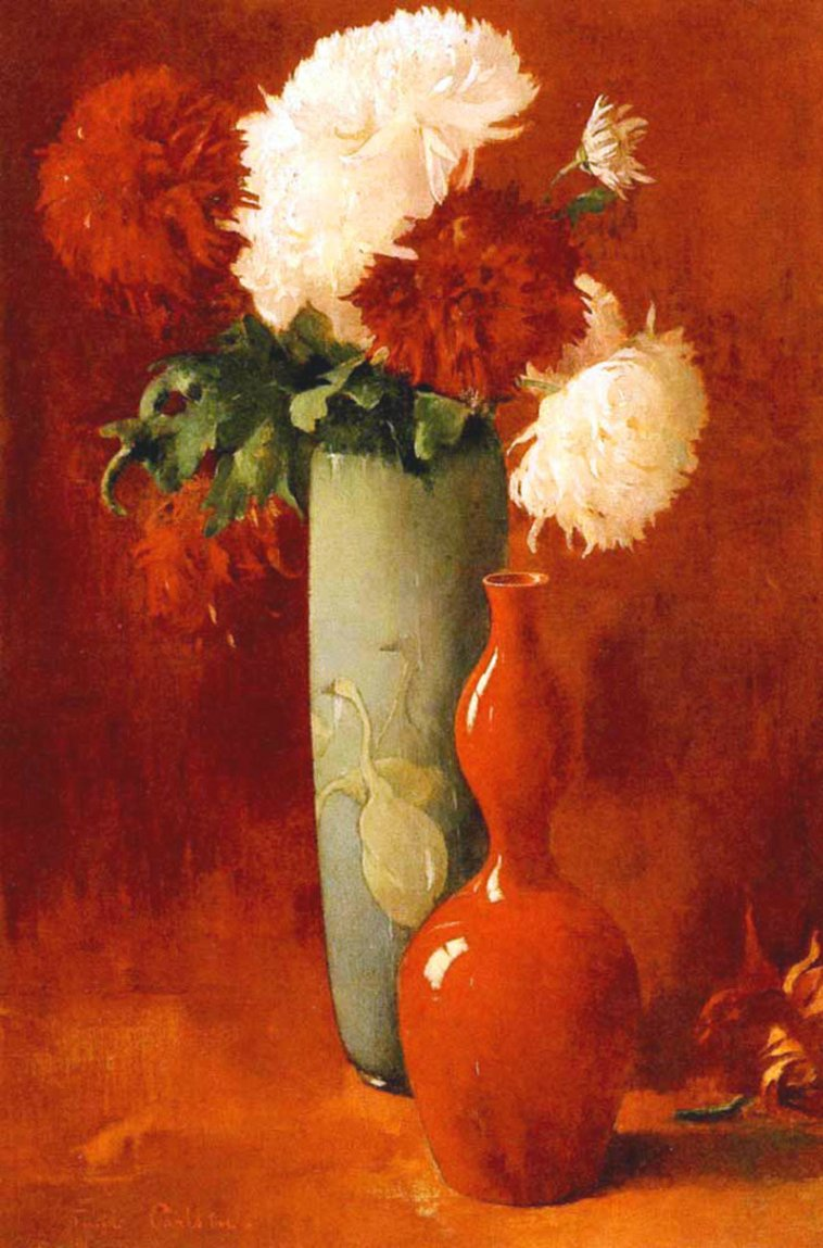 """""""Vases and Flowers."""" ca. 1896."""