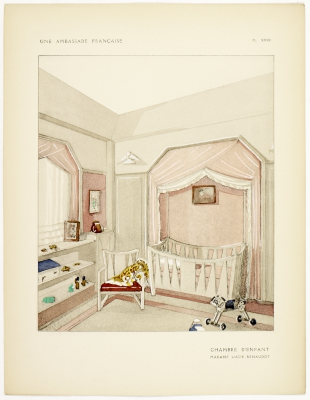 """""""Chambre d'Enfant."""" Plate XXXII. Page 32."""