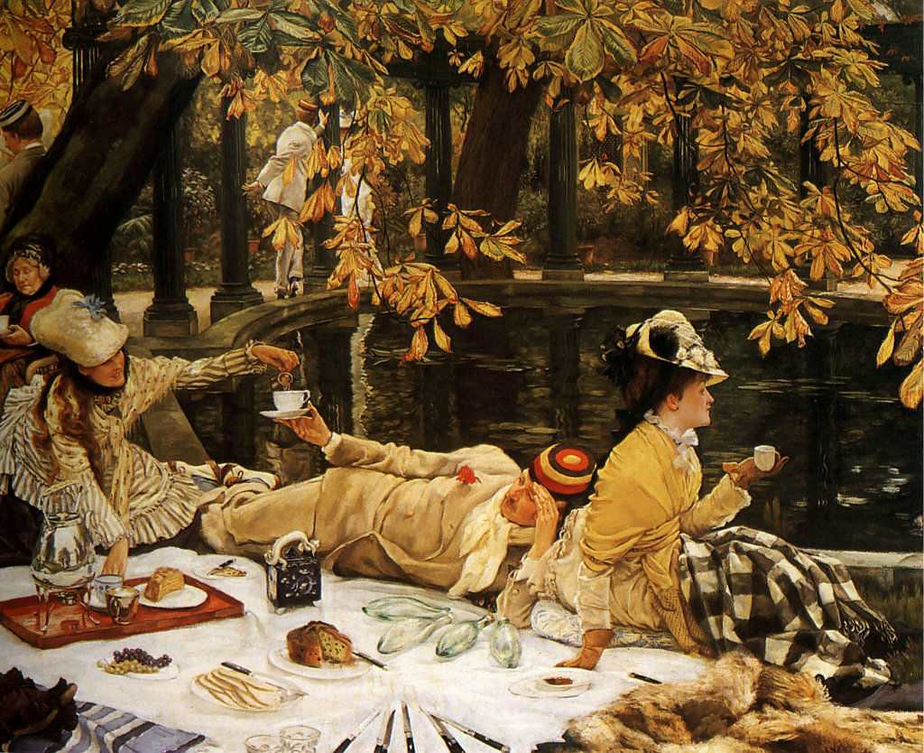 """""""Holyday"""" (The Picnic). 1876."""