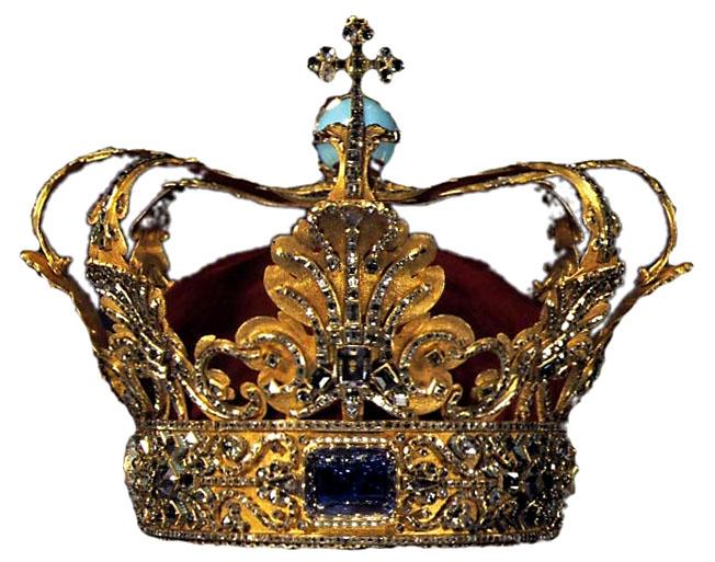 Crown of Christian V of Denmark. 1671.