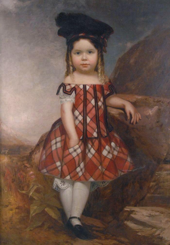 """""""Portrait of young Harry Herbert Keith."""" ca. 1860."""
