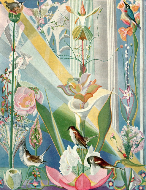 """Dance of Spring"" (Song of the Birds). 1924."