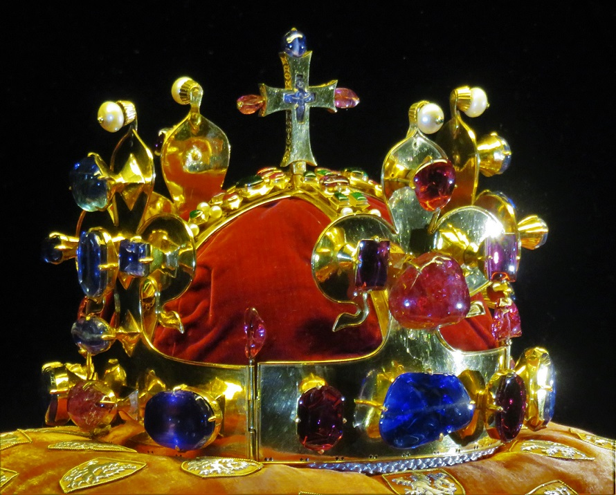 Crown of Saint Wenceslaus, used to crown Czech kings until 1836.