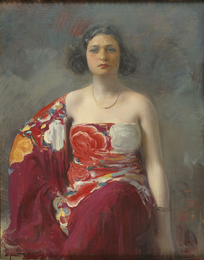 Portrait of a woman. Undated.