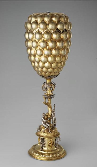 Grape goblet. ca. 1600.
