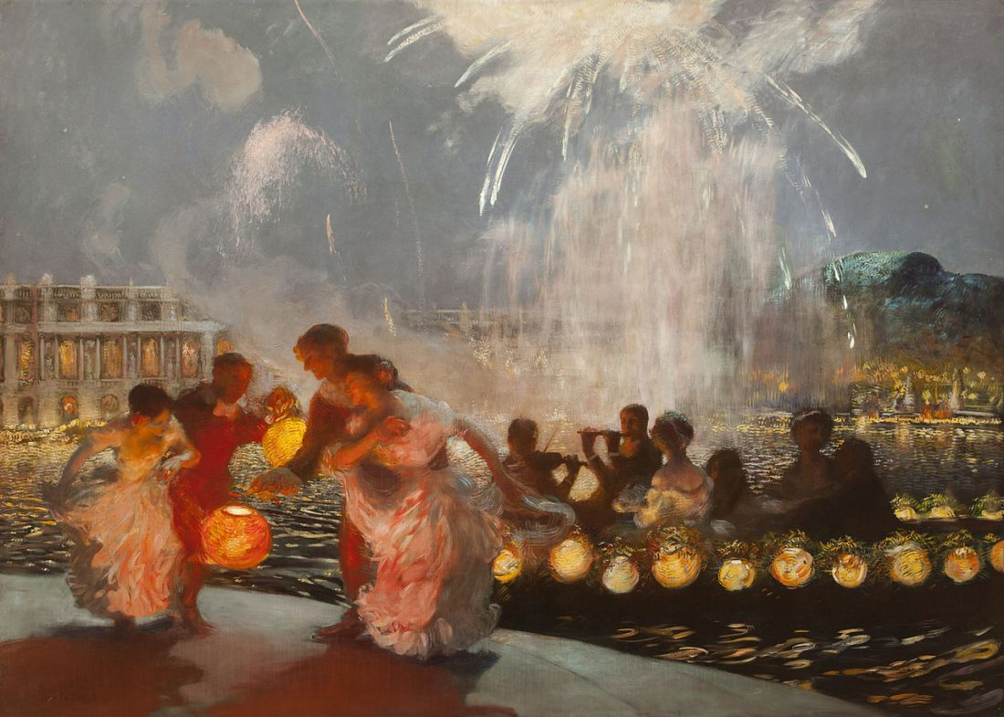 """The Joyous Festival."" 1906."