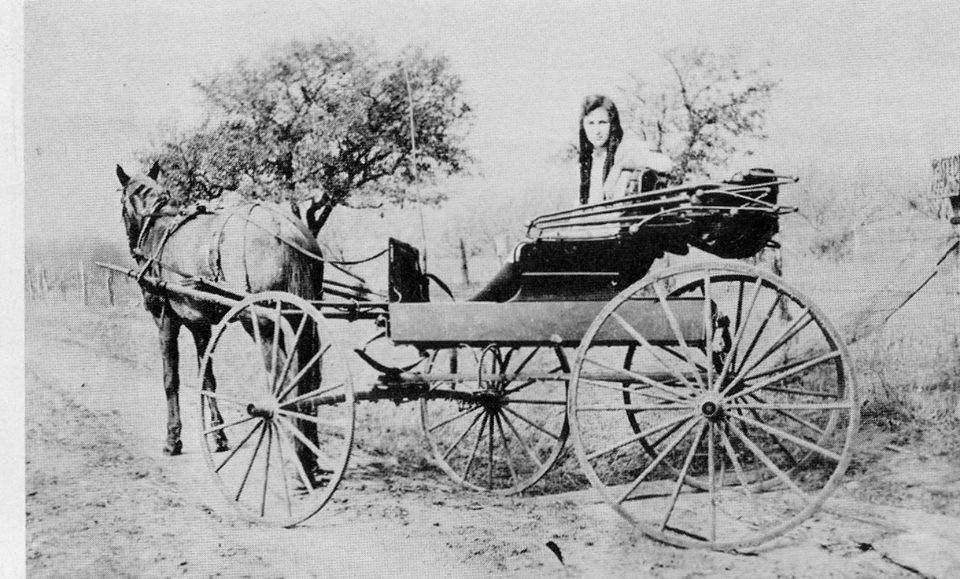 Parker County, Texas, USA. ca. 1905.