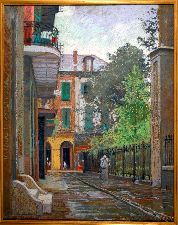 """""""Orleans Alley."""" 1907."""