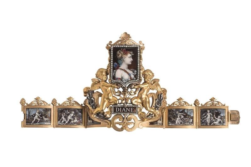 Bracelet Diane. 1883.