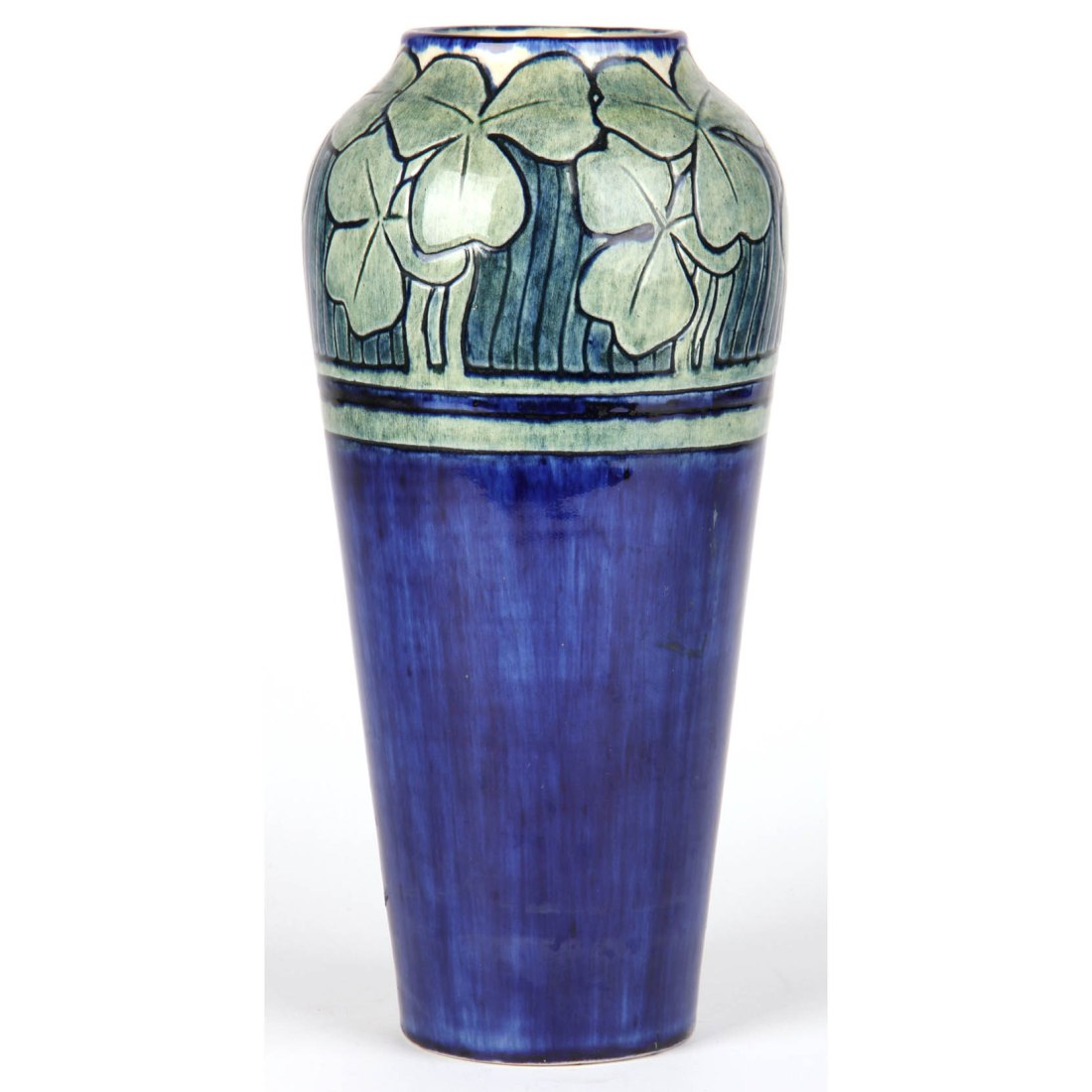 Baluster vase with clover leaves. 1905.