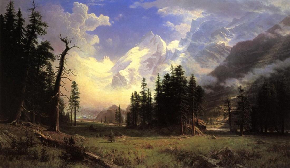 """The Morteratsch Glacier, Upper Engadine Valley, Pontresina."" 1895."