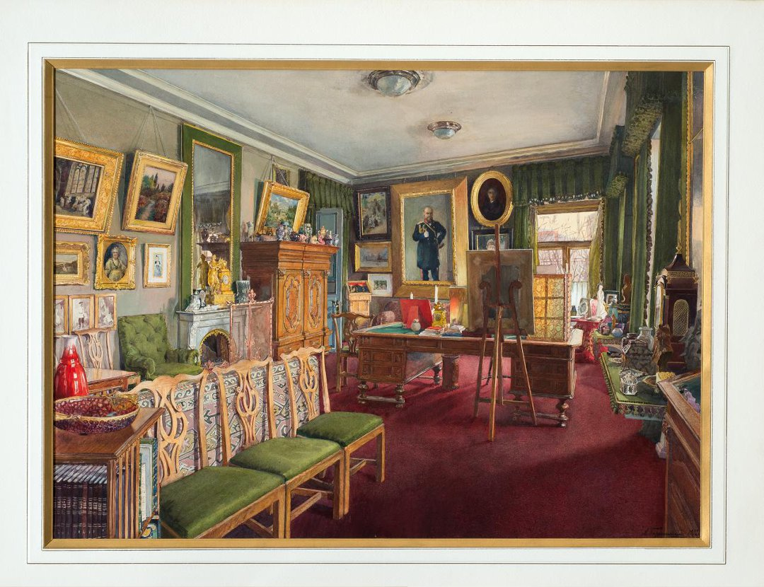 Ceremonial office of Grand Duke Sergei. 1902.