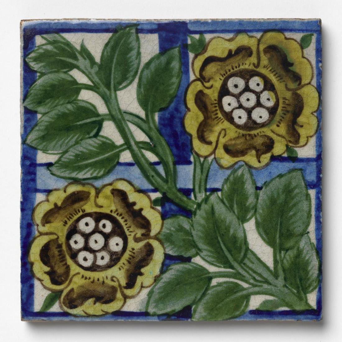 """""""Curzon rose trellis."""" 1872-1881."""