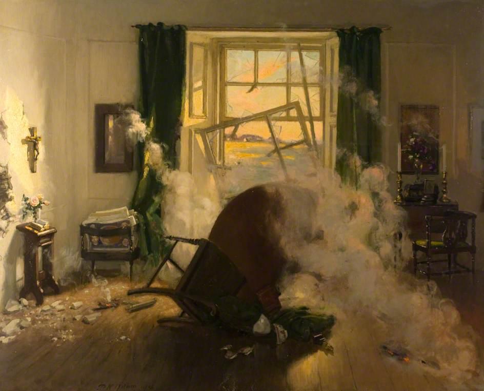 Adam, Patrick William, 1854-1929; War