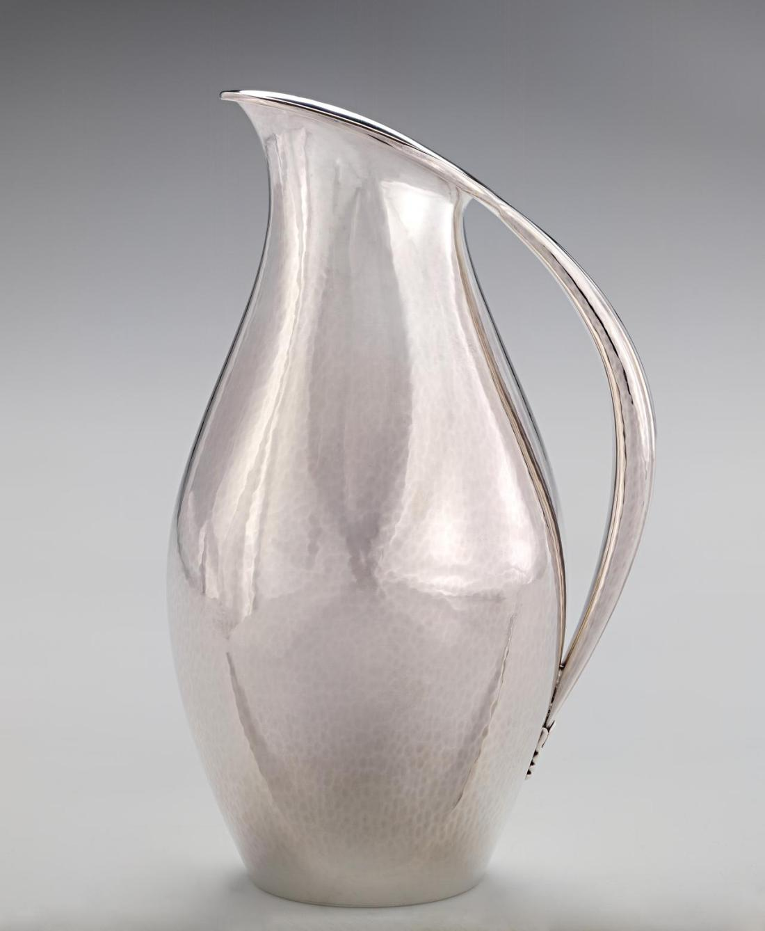 Sterling silver pitcher. #432.