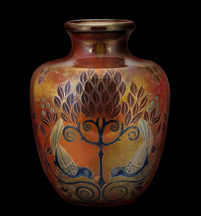 Ceramic vase. ca. 1905.
