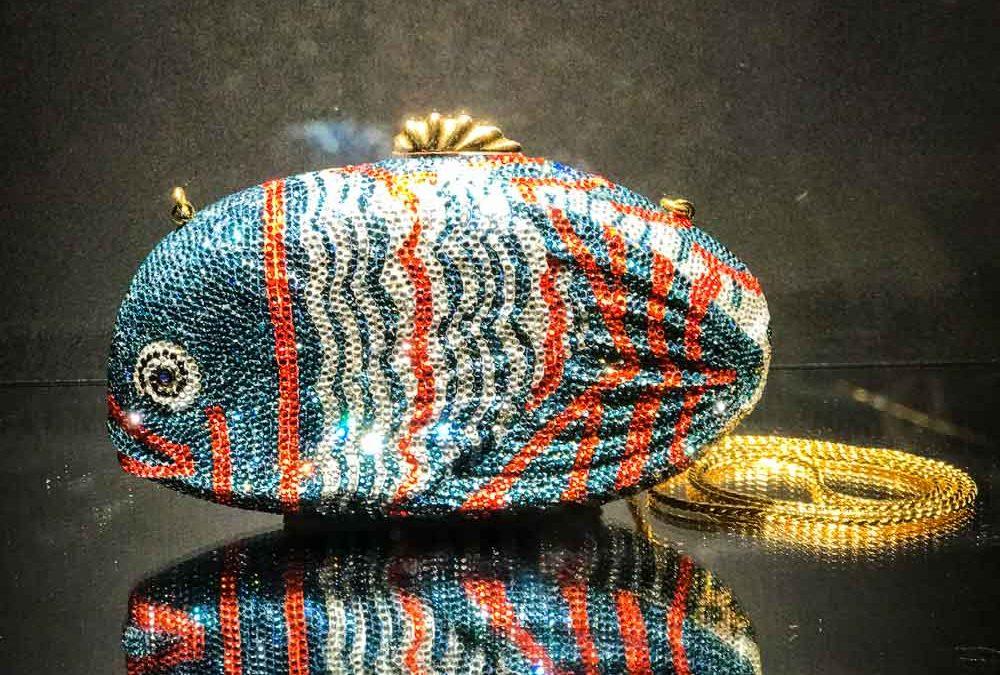 Fish handbag.