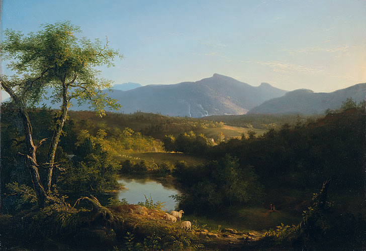 """View Near the Village of Catskill."" 1827."