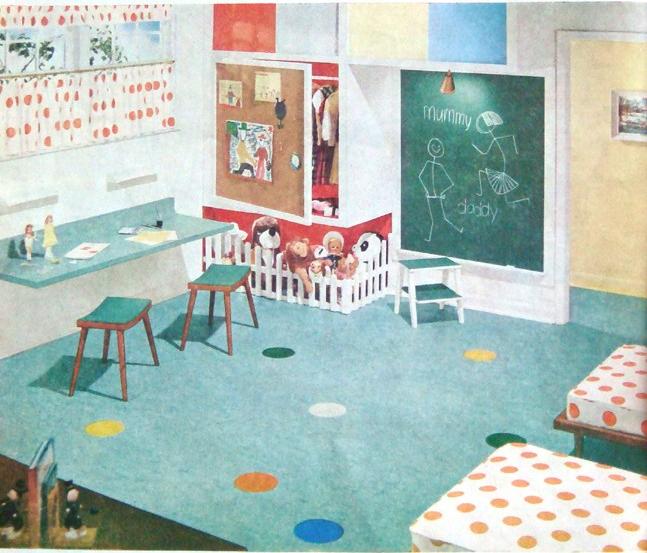 Children's playroom. Undated.