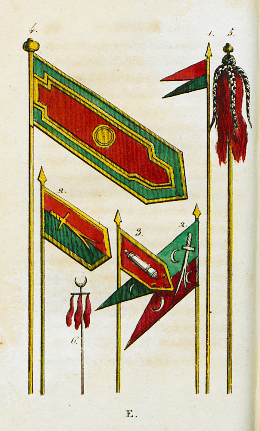 """Ottoman emblems and military flags."""