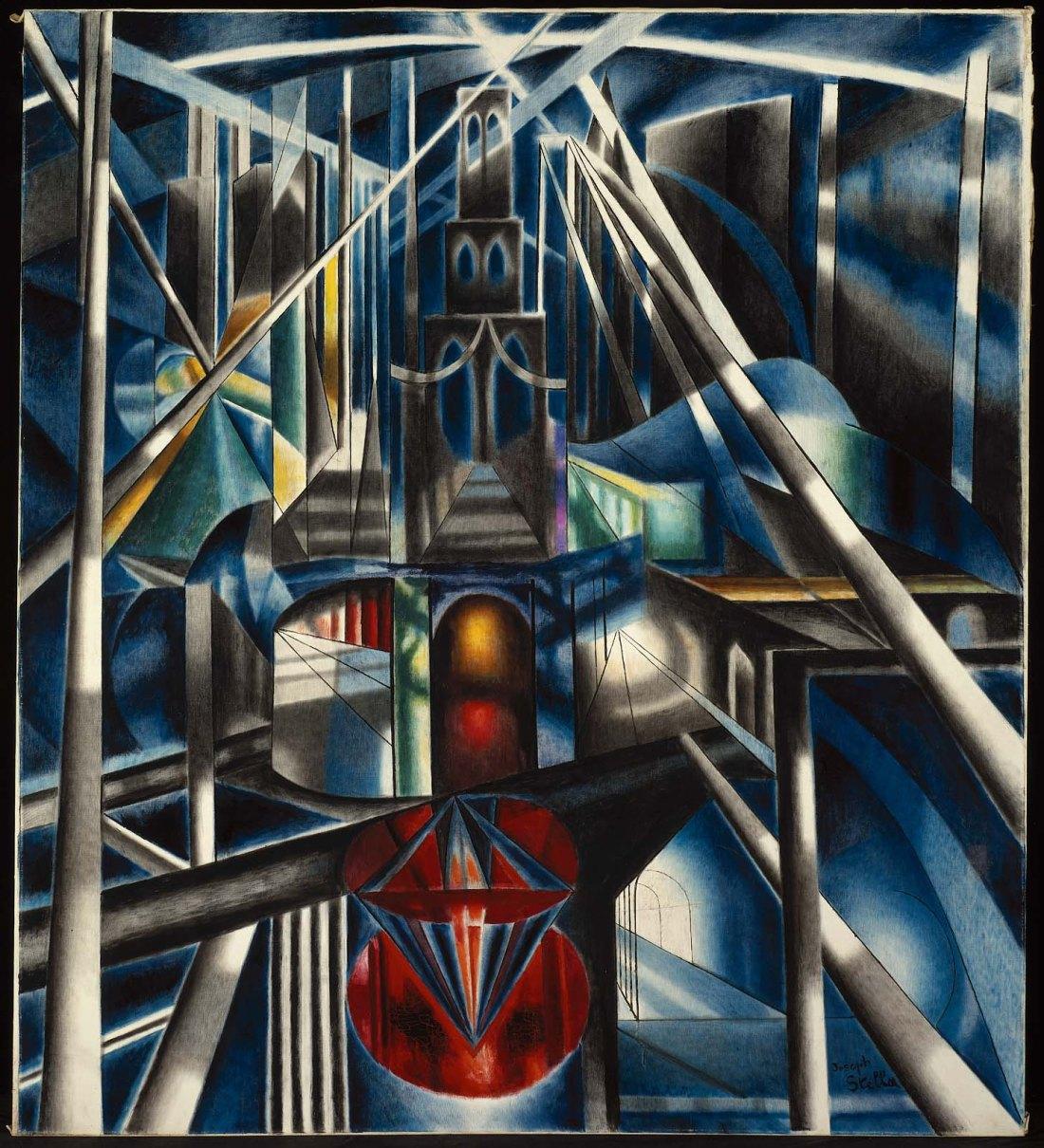 """Old Brooklyn Bridge."" ca. 1941."