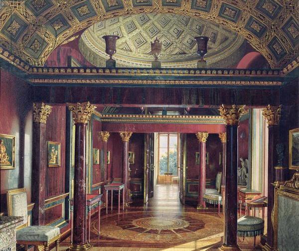 Agate Room, Catherine Palace, Tsarskoe Selo. 1859