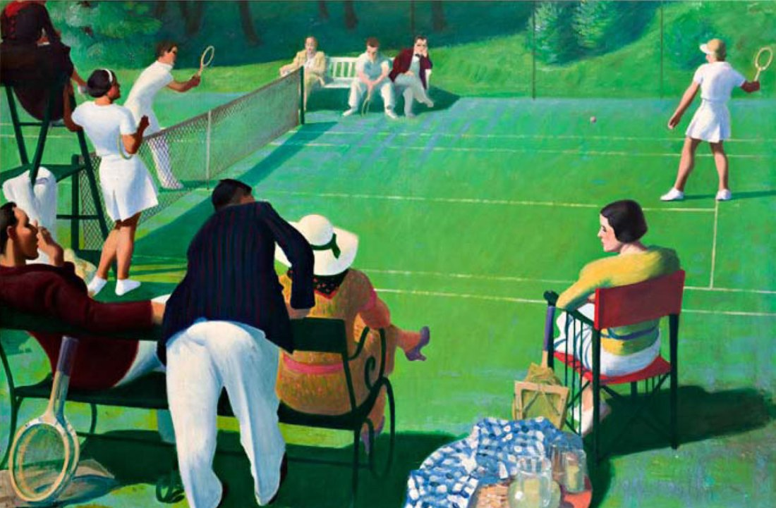 """Tennis."" 1937."