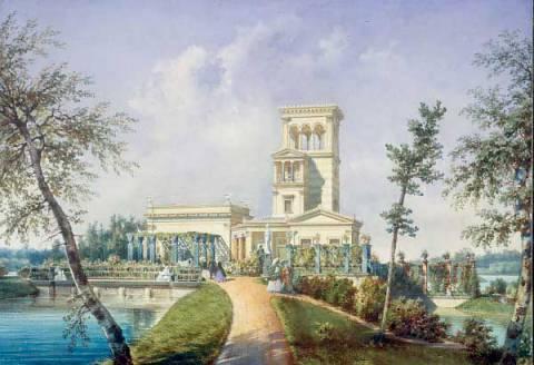 Ozerki Pavillon, Peterhof. 19th c.