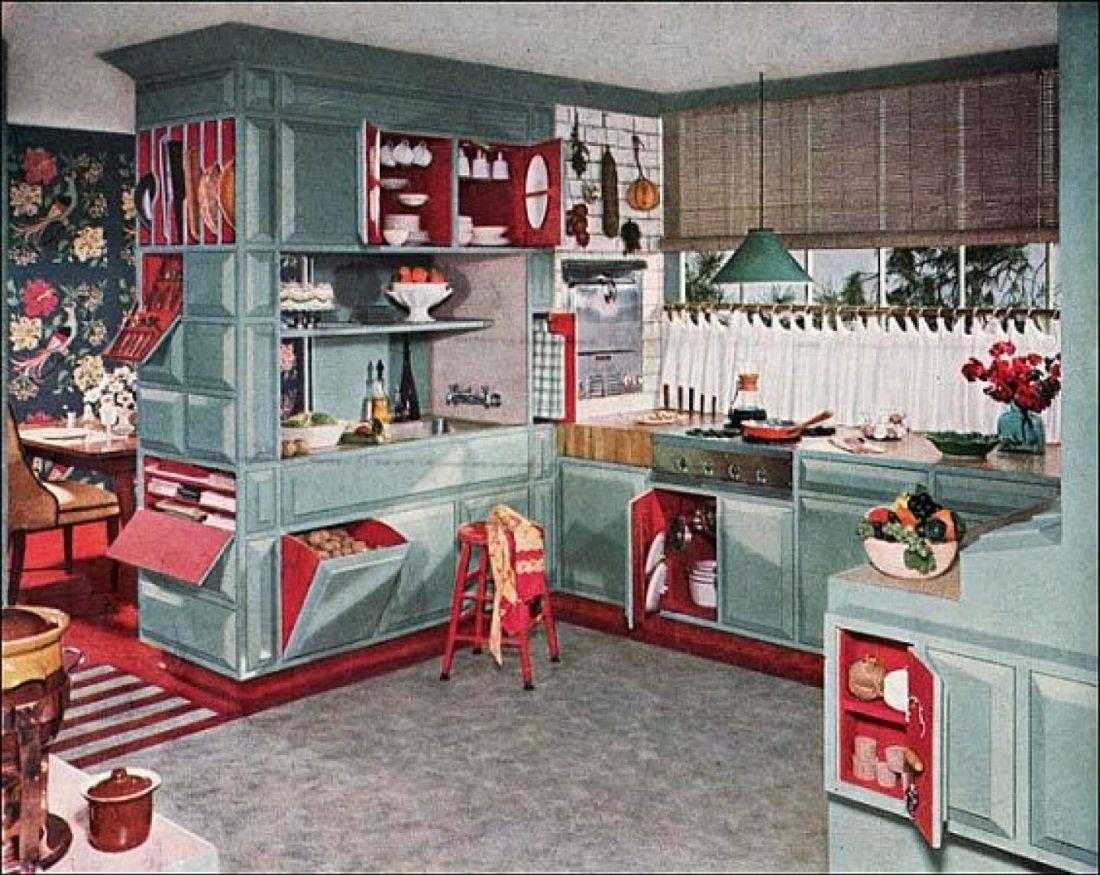 Kitchen. 1953.
