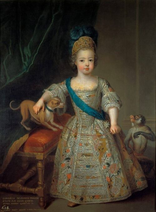 The young Louis XV. 1714.