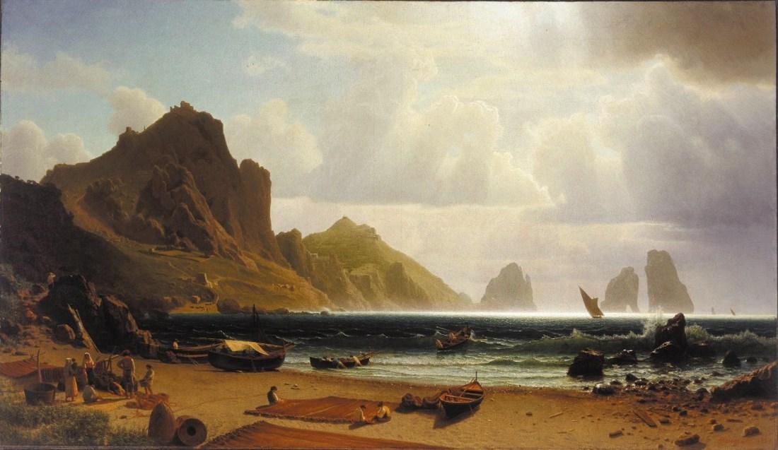 """The Marina Piccola, Capri."" 1859."