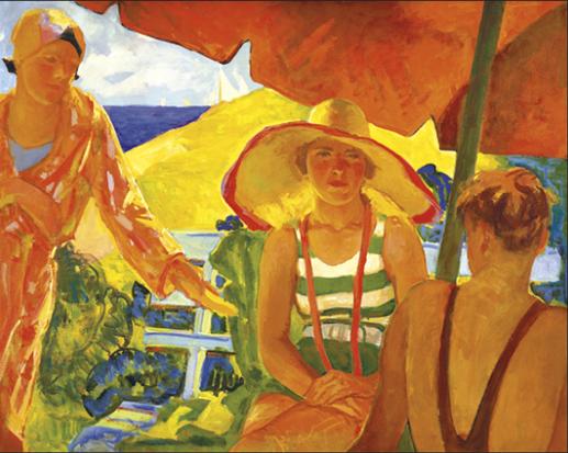 """""""Summer Sunlight."""" ca. 1936."""