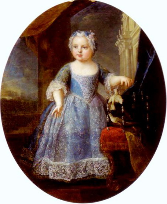 Princess Louise of France. 1728-1733.