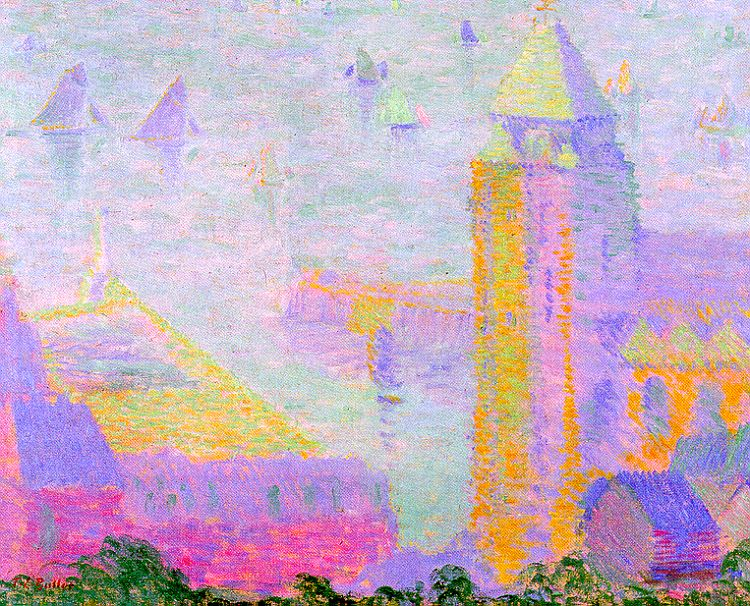 """The Lieutenancy, Honfleur."" 1906."
