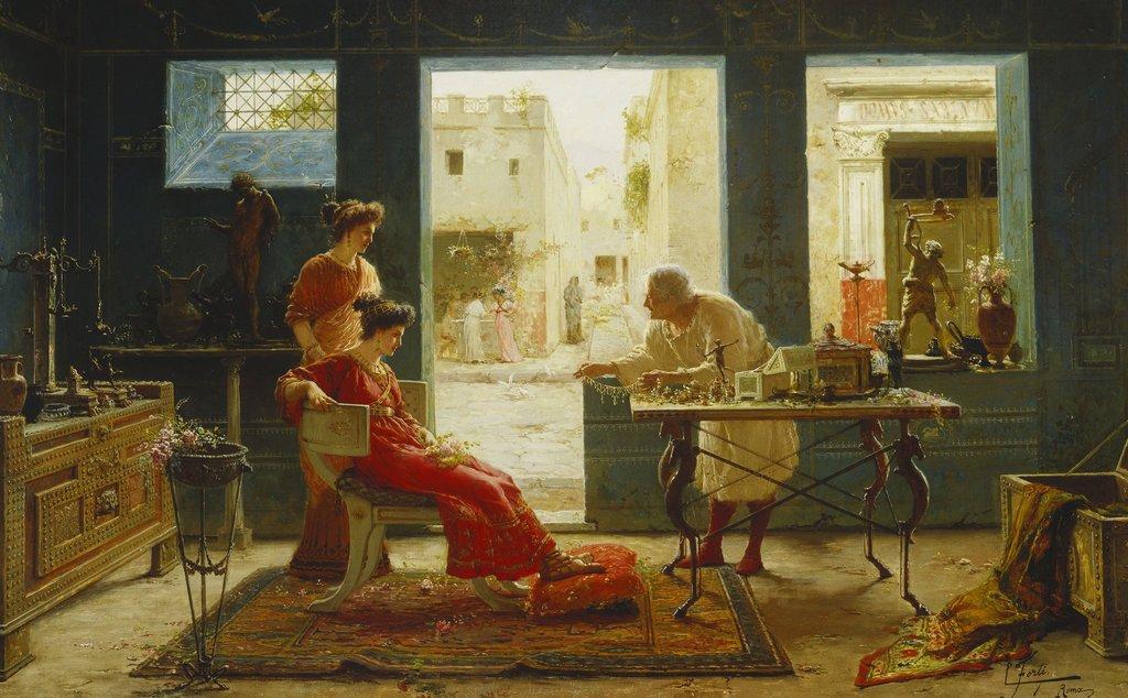 """""""Pompeii Antiques."""" No date."""