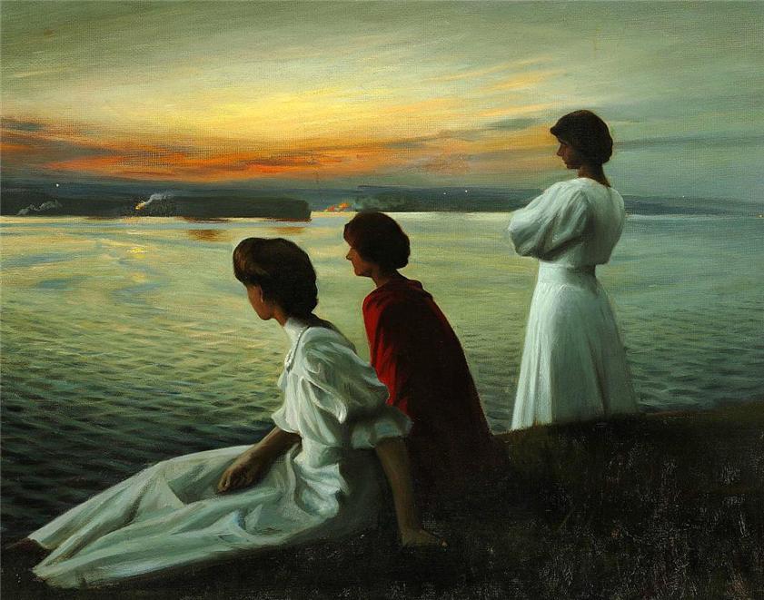 """""""Midsummer's Eve."""" 1904."""
