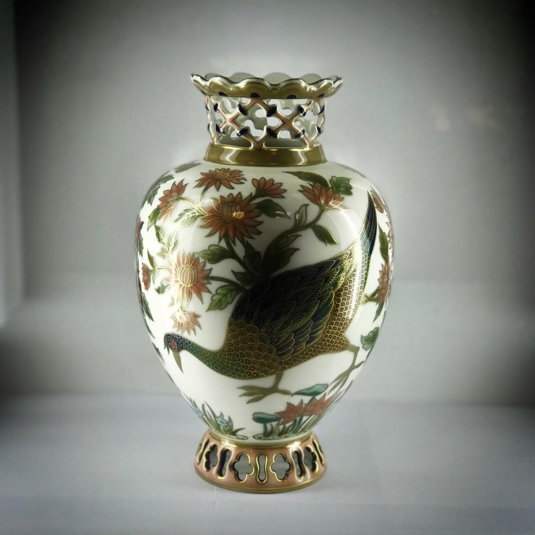 Ibis vase. Undated.