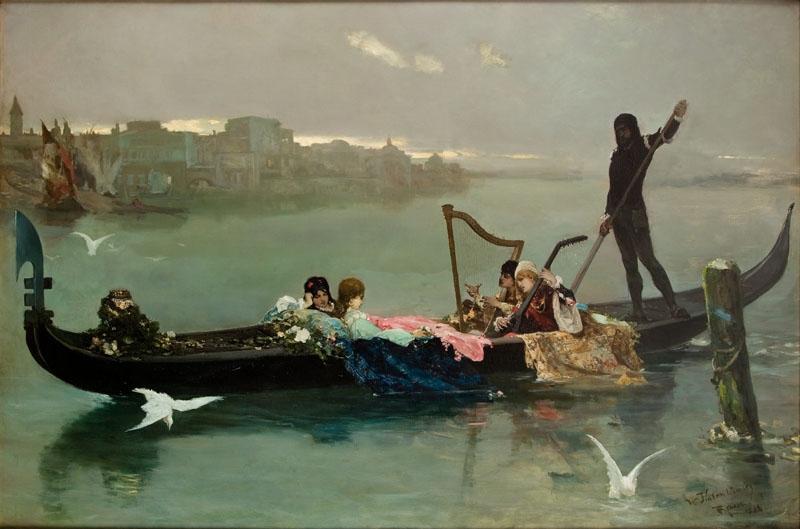 """""""Venetian Serenade."""" 1881."""