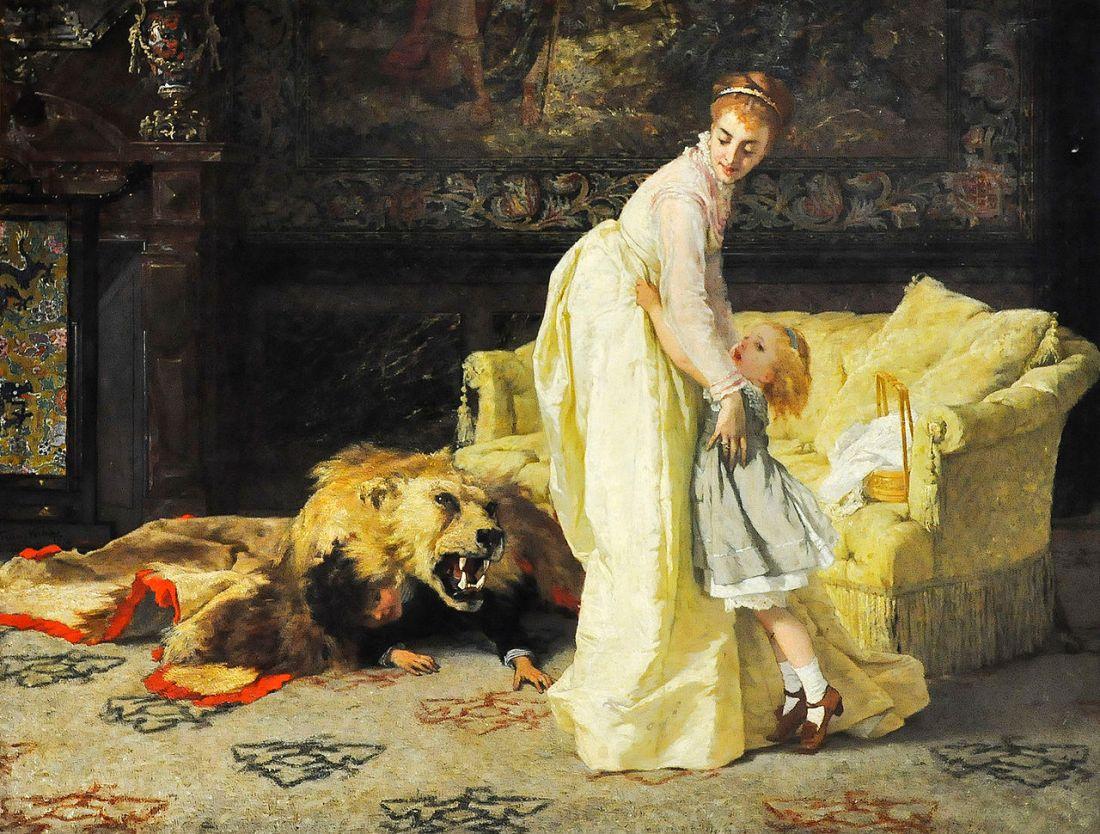 """""""The Lion."""" 1874."""