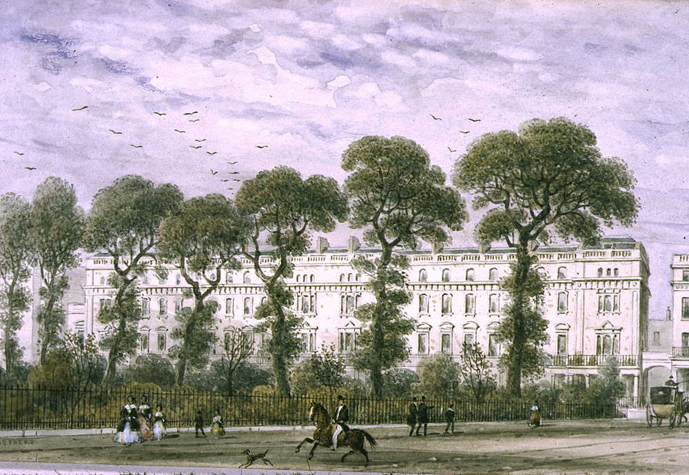 """""""Onslow Square."""" 1851."""