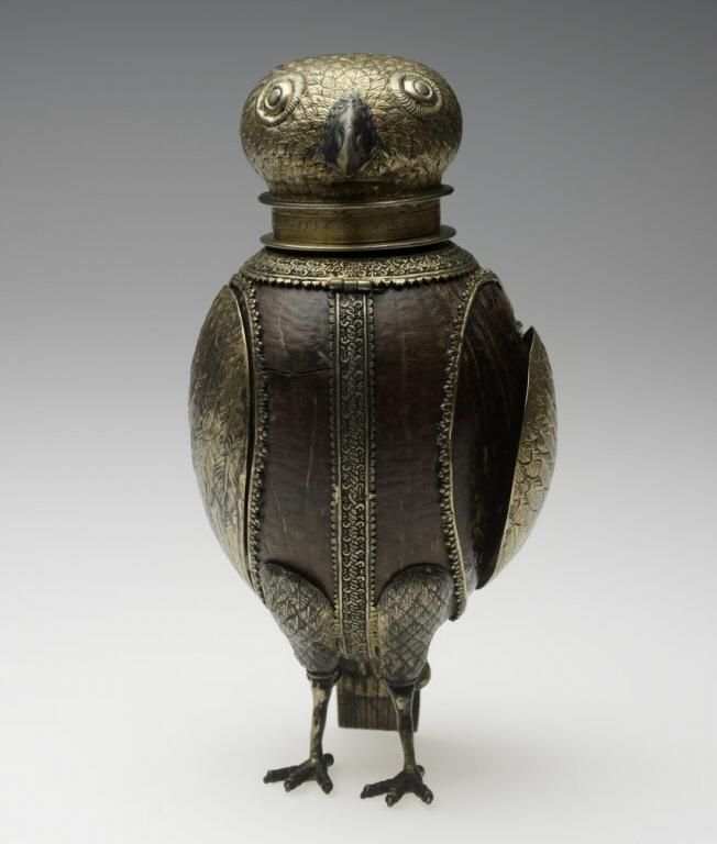 Owl beaker. 1556.