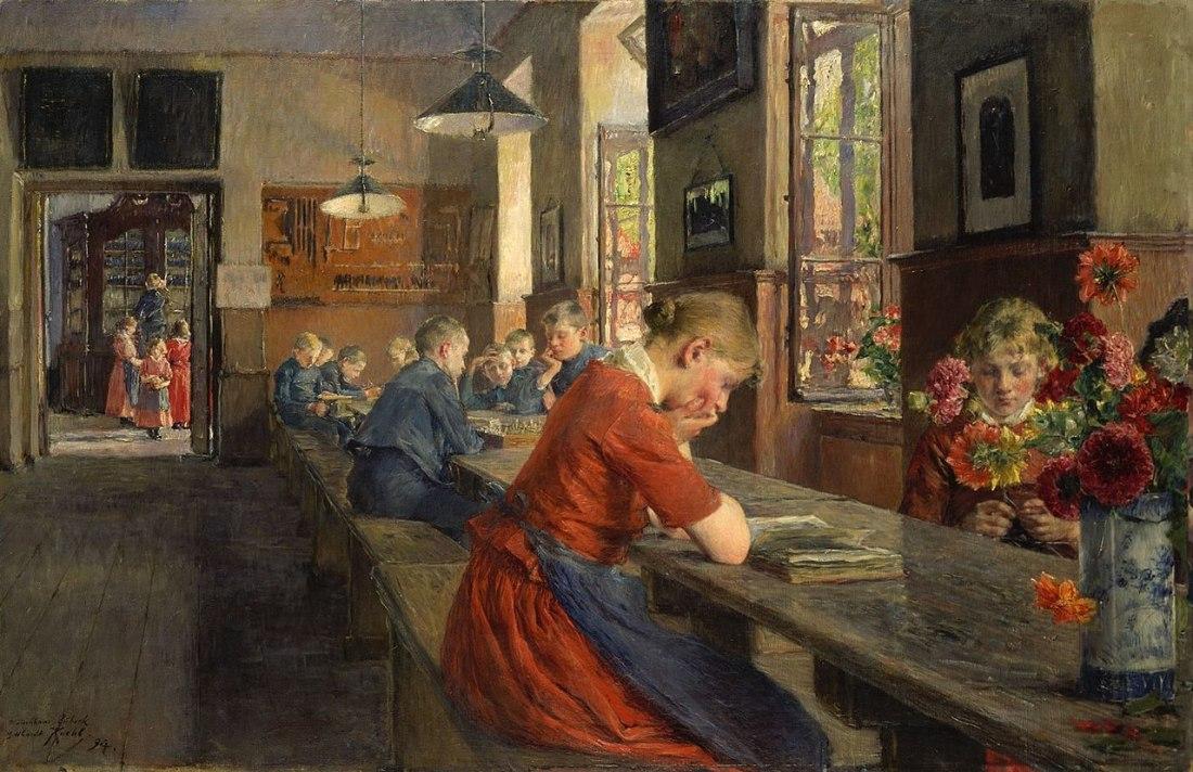 """""""Lübecker Waisenhaus."""" 1894."""