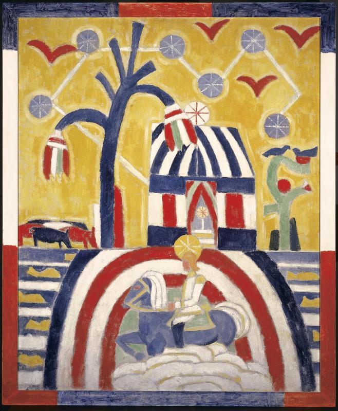 """""""Portrait Arrangement."""" 1914."""