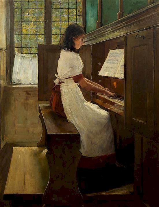 """""""The Little Organist."""" No date."""