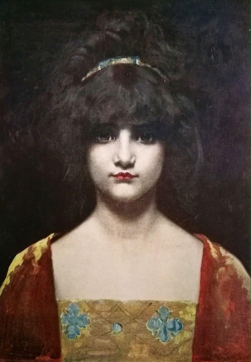 """Femme,"" artwork done for the magazine Paris-Noël. 1897-98."