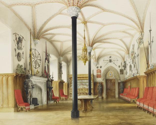 """Schloss Stolzenfels The Great Knight's Hall."""
