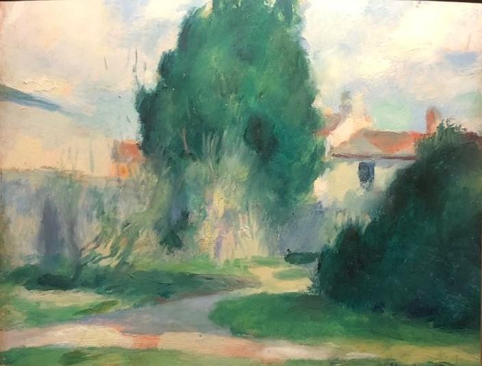 """""""Verdure."""" 1905."""