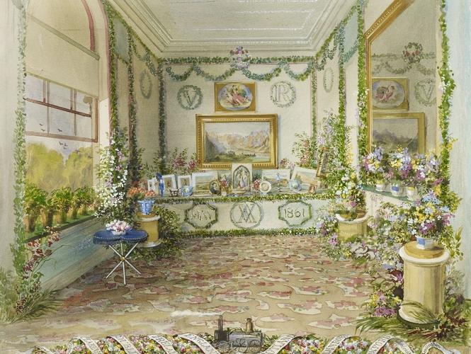 Queen Victoria's Birthday Table at Osborne