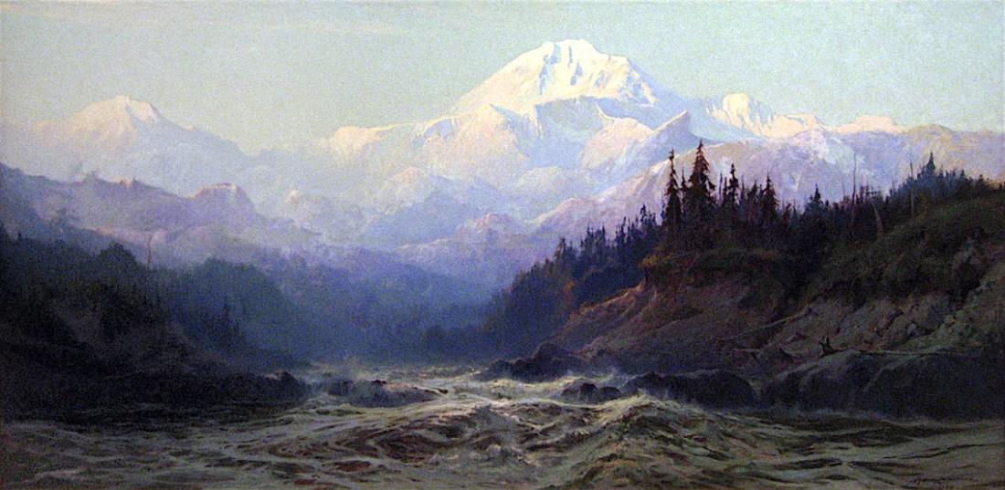 """Mount Mckinley (Denali) Alaska."" 1925."