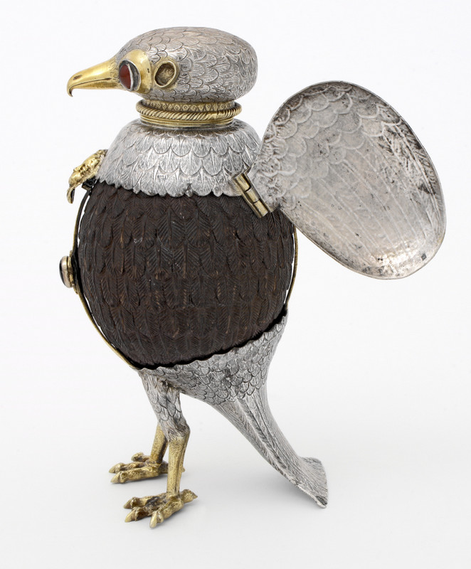 Falcon cup (with open wings). ca. 1600.